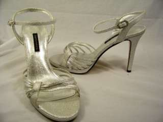 CAPARROS Kerry Silver 8.5 Heels Womens NEW Shoes