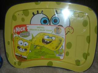 New DORA Diego Boots/Spongebob Patrick Metal Snack Tray