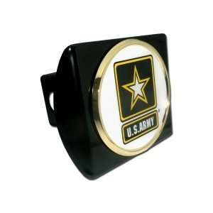 States Army USA Black with Gold Plated Star & Seal Emblem Trailer