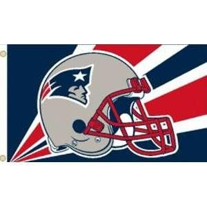 New England Patriots Helmet Flag