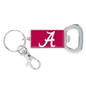 NCAA Alabama Crimson Tide Bottle Opener Key Ring