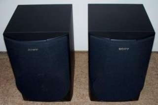 Sony SS H991 3 Way Bookshelf Speakers