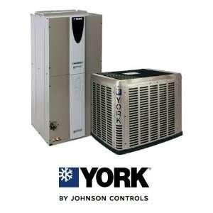 Ton 17.5 Seer York Heat Pump System   YZH03611   AVY36C3XH21