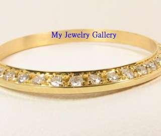 YELLOW GOLD DIAMOND BEZEL FOR LADIES ROLEX DATEJUST PRESIDENT WATCH