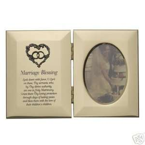 Marriage Blessing Wedding Christian Picture Frame Gift