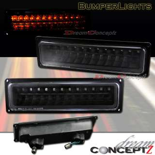 1994 1999 GMC CHEVY FULL SIZE TAHOE SUBURBAN LED SIGNAL LIGHTS BLACK