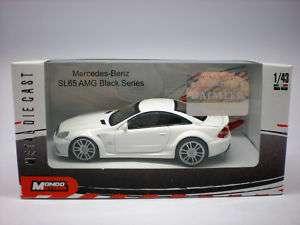 MONDO 1/43 Diecast Car Mercedes SL65 AMG Black Series
