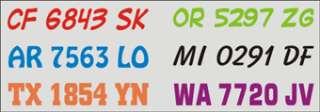 BOAT,PWC NUMBERS,BAYLINER,SKIPJACK,RANGER,WAVE RUNNER,SEA DOO,JET SKI