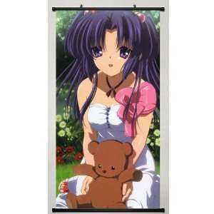 Japanese Anime Wall Scroll Clannad Kotomi, 22*42 Home & Kitchen