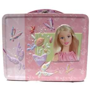 Barbie Metal Girls Tin Lunch Box Toys & Games