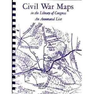 Civil War Maps (Author Signed) Richard W. Stephenson Books