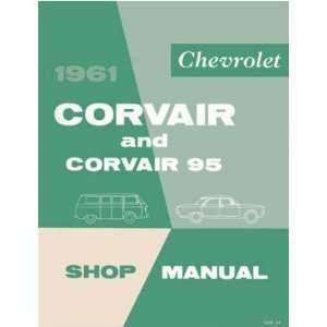 1961 CHEVROLET CORVAIR Shop Service Repair Manual Book