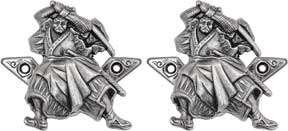 DENIX SAMURAI SWORD HANGERS SWORD/KNIFE GUN WALL HANGER SABER DAGGER 2