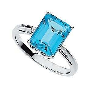 Commanding 4.25 Carat Oval Cut Swiss Blue Topaz Solitaire
