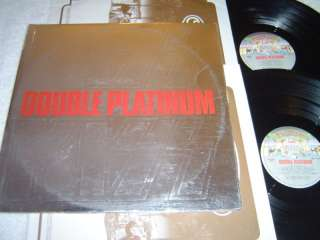 KISS Double Platinum 2 LP SET Canada with INSERT RARE!