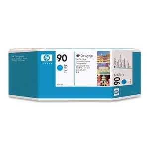 Hewlett Packard C5061a 90 Cyan Ink Cartridge