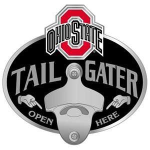 Ohio State Buckeyes Trailer Hitch Cover   Tailgater