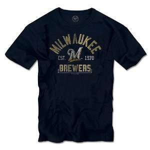 Milwaukee Brewers Scrum T Shirt by 47 Brand Sports