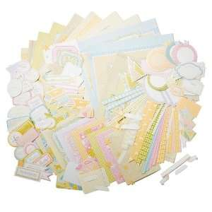 Quick and Easy Scrapbook Page Kit   Baby Arts, Crafts & Sewing