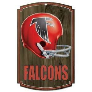 NFL Atlanta Falcons Sign   Wood Style Vintage: Sports & Outdoors