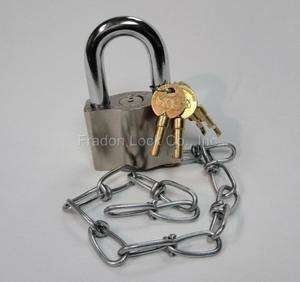 Sargent & Greenleaf 0881 Enviromental Padlock New With Chain Heavy