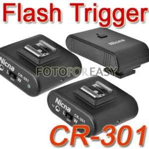 CTR 301P Wireless Flash Trigger Set With 2 Receivers