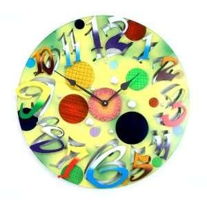 David Scherer Big Time Modern Green Wall Clock