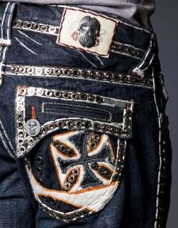 Laguna Beach Jeans Embroidered MAGNUM   WHITE 2G Crystals **SAMPLE