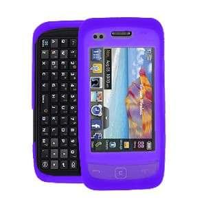 For Samsung Rogue U960 PURPLE SKIN CASE Phone Cover