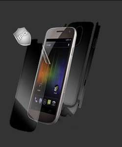 IPG Samsung Galaxy Nexus Invisible Guard Shield FULL BODY Cover Phone