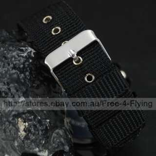 Luxury Sport Army Men Lady Boy Wrist Watch Fabric Belt