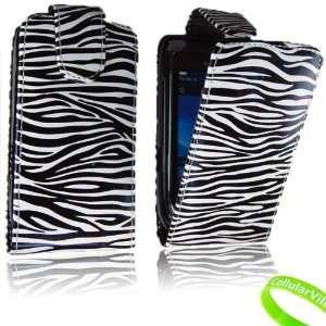 Cellularvilla (Trademark) Case for Blackberry Torch 9800 Black White