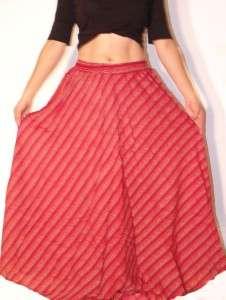 Long Bohemian Hippie Boho Skirt S M L XL
