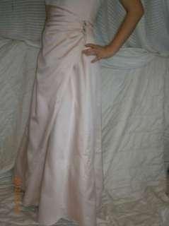 DAVIDS BRIDAL Pink Satin Bridesmaid or Prom Dress~~worth $129