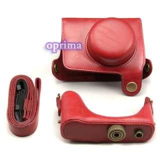 Leather Case Bag for Panasonic LUMIX DMC GF3C 13.1 MP Digital Camera w