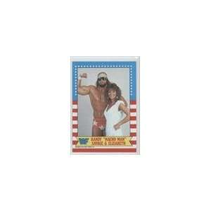 Topps WWF #7   Macho Man Randy Savage w/Elizabeth Sports Collectibles