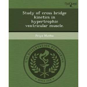 Study of cross bridge kinetics in hypertrophic ventricular