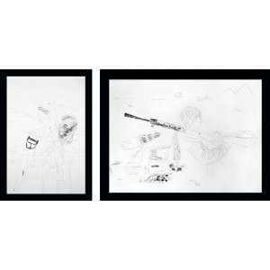 depleted (full set)   Extra Large 36 X 48   Hand Painted Canvas Art