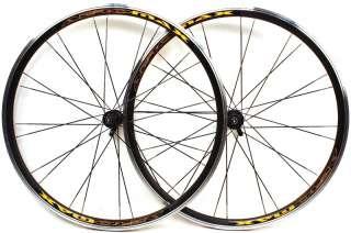 New Wheelset Road Bike Black 700c Aero Clincher Wheels fits Shimano