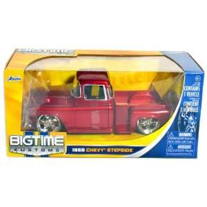 1955 Chevy Stepside Pickup Truck 124 Scale (Red) Toys