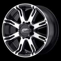 17 DALE EARNHARDT RIBELLE WHEELS 17x8.5 +20 6x135