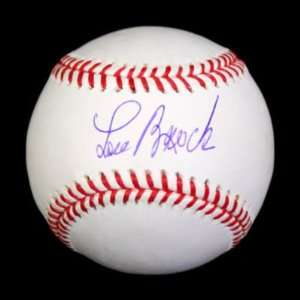 Lou Brock Autographed Baseball   Oml Psa dna Sports