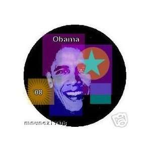 buttons pins pinbacks Obama colorfull 3 2008 Everything