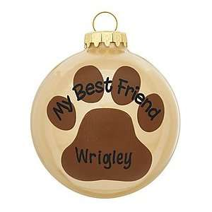 My Best Friend Ornament