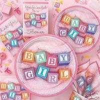 SWEET BABY GIRL BABY SHOWER CREPE PARTY DECORATION PARTY SUPPLIES NIP
