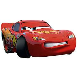 Large Disney CARS Lightning Wall Stickers MURAL ACCENTS