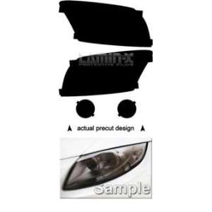 Dodge Caliber (07  ) Headlight Vinyl Film Covers by LAMIN X ( Tint )