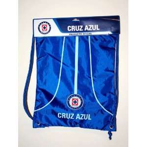 Cruz Azul Logo Drawstring Equipment Bag   001:  Sports