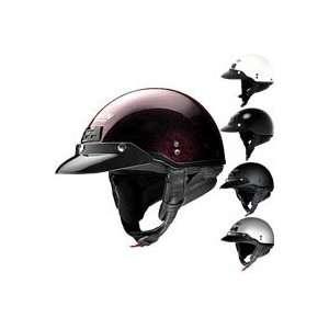 Nolan Cruise Metallic Half Helmet Medium Black Graphite