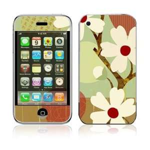 Apple iPhone 2G Vinyl Decal Sticker Skin   Asian Flower